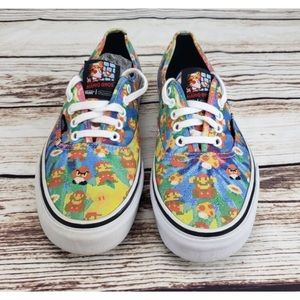 Vans X NINTENDO Super Mario Bros video game